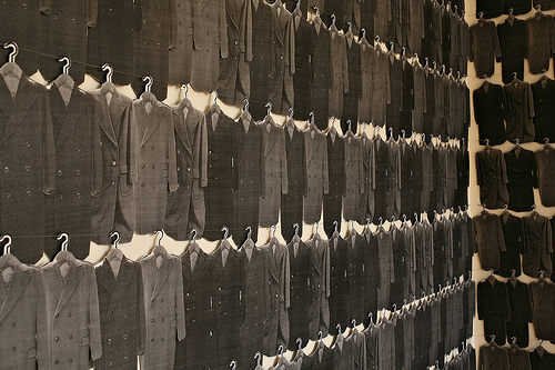 "Dana Hemenway, ""Nearly 500 Coats"", 2007"