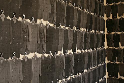 "Dana Hemenway, ""Nearly 500 Coats"", 2007"