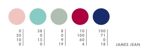 James Jean's CMYK Palette