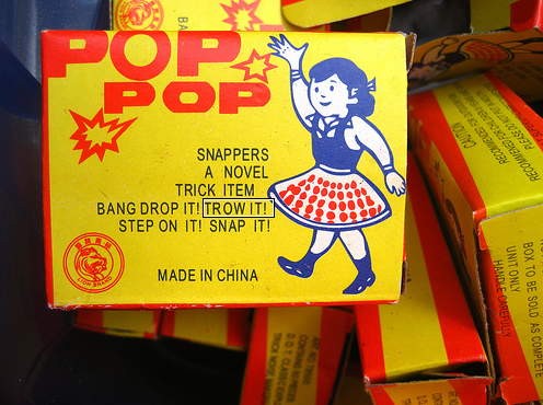 Pop! Pop! Photo by Creative Holly