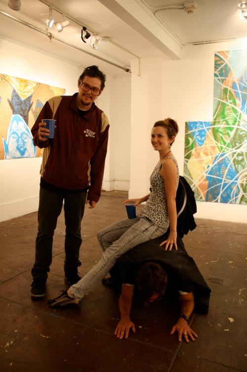 Albert Reyes, Aiyana, and Matt Furie