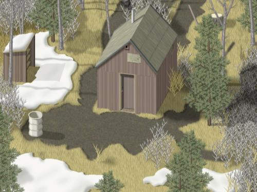 Theodore Kaczynski's cabin
