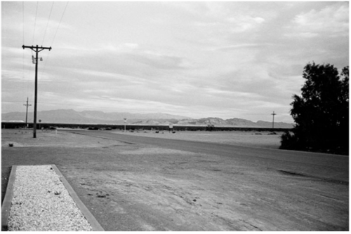 "Peter Lindbergh, ""Nevada and Melanie Thierry, Los Angeles"